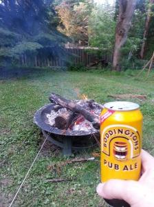 Backyard camping done right!